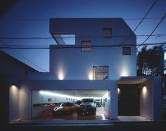 Kre House- Nine-car Garage Home with Lamborghini as a True Centerpiece   http://www.designrulz.com/design/2013/05/kre-house-nine-car-garage-home-with-lamborghini-as-a-true-centerpiece/