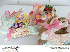 How to G45 Baby 2 Bride Easter Bunny Wagon and Mini Album
