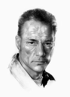 Jean-Claude Van Damme by Cipta Stevano Gunawan {from Indonesia}