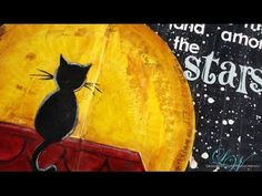 Step by step video on creating an art journal layout For supplies please visit: http://www.clips-n-cuts.com/2014/10/art-journal-shoot-stars/ http://www.limor...