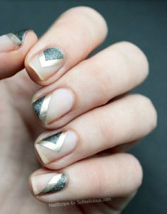 If you are thinking to give your nails a fabulous nail art, these are some amazing metallic nail art ideas for you! Check now