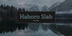 Font dňa – Haboro Slab