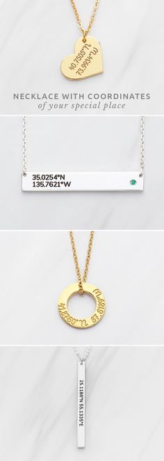 Latitude Longitude Necklace • Cubic Bar Coordinates Necklace • Heart Coordinates Necklace • Engraved coordinates necklace • Bar Coordinates Necklace • Gold coordinates necklace • Coordinates jewelry • Heart charm coordinates necklace • engraved necklaces • Graduation necklace • Minimalist necklace • custom made jewelry • Sister jewelry • bff graduation gifts • gifts for sister moving away • cute engagement gifts • goodbye gifts for bff • unique graduation gifts for best friend