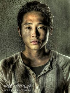 The Walking Dead: Glenn: HDR Redux by nerdboy69
