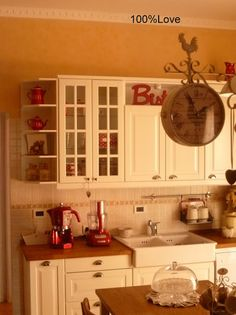 1000+ images about Cucina shabby chic on Pinterest  Cucina, Shabby and Shabby chic farmhouse