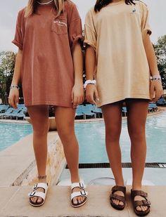 Via vsco :) summa in 2019 summer outfits, fashion, trendy outfits. Girls Summer Outfits, Summer Girls, Girl Outfits, Casual Outfits, Fashion Outfits, Big Shirt Outfits, Nike Shorts Outfit, Trendy Outfits 2016, Casual Summer Clothes