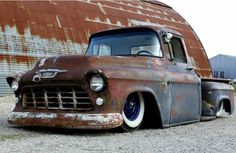 Looks like our old truck before it was restored