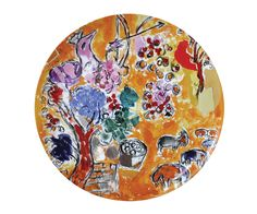 Bernardaud Marc Chagall Joseph Tribe Seder Platter more on #marcchagall http://www.johanpersyn.com/category/humanity/art/marc-chagall/