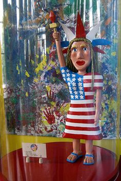 folk art liberty