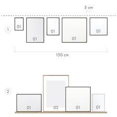 Bilder aufhängen: So geht's richtig | Connox Magazine Floor Plans, Diagram, Artwork, House, Inspiration, Home Decor, Houses, Hang Pictures, Scandinavian Living Rooms