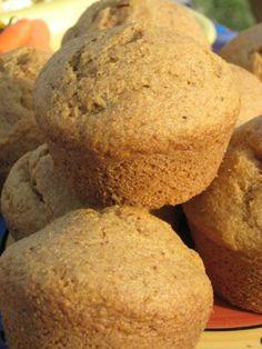 gf corn muffins from baking beauties - uses cornmeal, sorghum flour & tapioca starch (or rice flour)