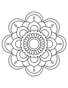 Easy Mandala Drawing, Mandala Art Lesson, Simple Mandala, Mandala Painting, Dot Painting, Coloring Book Art, Mandala Coloring Pages, Adult Coloring, Coloring Sheets