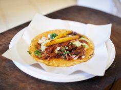 Adobada taco at Los Tacos No.1