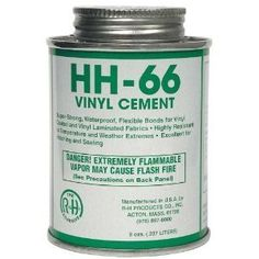 HH-66 PVC 4 oz Vinyl Cement Glue with Brush