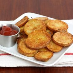 Crispy Oven-Roasted Potatoes by Tracey's Culinary Adventures,