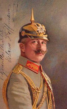 Wilhelm Ii, Kaiser Wilhelm, World War One, First World, German Royal Family, Frederick William, Vintage Artwork, Military History, Portrait Art