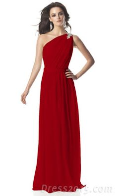 Bridesmaid dresses? Just in a different color. I'm not a fan of red.