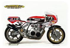 """Yamaha XS 750 """"Riverside"""" by Oberdan Bezzi"""