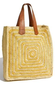 Mar y Sol crochet bag