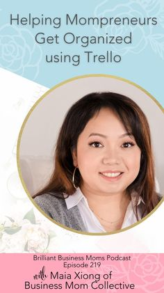 If you're a busy business mama, then I'm sure you know all about having a million things to keep track of for your business (and your personal life too!). Maia Xiong of the Business Mom Collective started using Trello to keep her own business organized but soon realized she could help other busy business moms too and The Mompreneur System with Trello was born. In this week's episode, we are talking to Maia about having the important foundations in place before starting to run Facebook Ads. Find Facebook, About Facebook, Facebook Marketing, Social Media Marketing, Star Students, Own Your Own Business, Power Of Social Media, Like Instagram, Business Organization