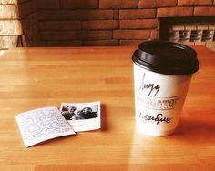 Любовные письма на совместных фото- как романтично!  А какие подарки на День Святого Валентина получили вы ?  Спасибо за фото @lidacheredova  #boftomsk #boft #атриумкино #megaomsk #skuratovcoffee by boftomsk