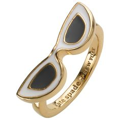 kate spade. The Shade Ring, Gold | John Lewis Spring /Summer 15
