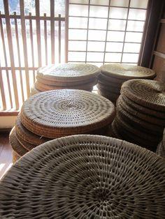 藁座布団 Wara Zabuton (Japanese straw mats)