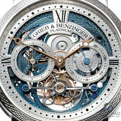 grieb & benzinger watches | Grieb & Benzinger Blue Merit Watch