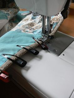 I use these clips to hold the binding when I am hand sewing the binding to a quilt. It works great!