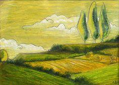 Yellow fields © Audrey Dowling