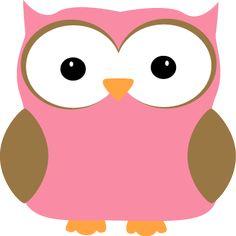 Pink Owl Clip Art - Pink Owl Image