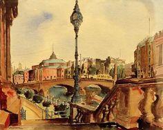 """Grossberg, Carl 1894–1940. """"Berlin – Zirkus Busch"""", 1926."""