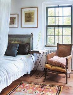 Number Fifty-Three: 10+ Inspiring & Eclectic Bedrooms #EclecticBedrooms