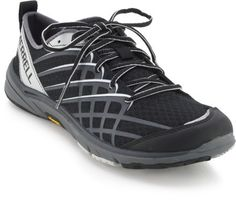 Merrell Bare Access Arc 2 Running Shoes - The associate at REI suggested I use these intermediate barefoot shoes while doing resistance training and low impact aerobics. He said that would be a good time to work on foot strength without overloading my foot all the time. He also said these wouldn't be good for walking far on hard surfaces, but that they're good for the gym. I like how they hug my arches and have good cushioning. So I'll give 'em a shot!