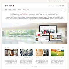 Incentive Responsive All Purpose WordPress Theme | WordPress Theme Download