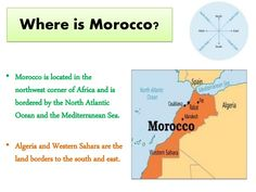 A journey through  Morocco for kids