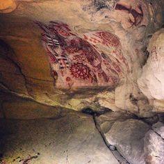 Chumash Painted Cave State Historic Park in Santa Barbara, CA
