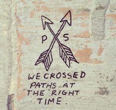 Arrows...cool tattoo idea.