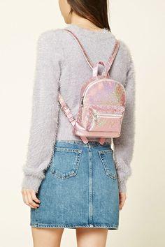 Glitter Mini Backpack | Forever 21 - 1000210773