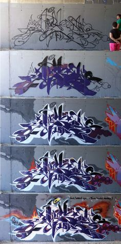 Graffiti Progression