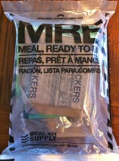 Military Supply MRE Meals Ready to Eat The Best MRE Food Storage You can Buy!
