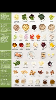 Healthy eating! Salad ideas!