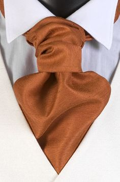 burnt orange tie for men.    Re-Pinned by http://high5collegeclub.com