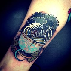 Thievinggenius: Tattoo done by Tom Bartley. @tom_bartley