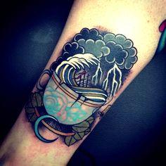 Thievinggenius: Tattoo done by Tom Bartley. @tom_bartley