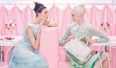 ☼    Louis Vuitton Spring 2012 Ad Campaign by Steven Meisel