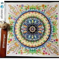 Instagram media desenhoscolorir - Belíssimo! By @sseungei #oceanoperdido #desenhoscolorir #로스트오션 #LOSTOCEAN #조해너배스포드 #JohannaBasford #컬러링북 #ColoringBook #카렌다쉬파블로색연필 #jardimsecreto