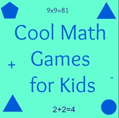 Math has always been a dreaded subject with kids at schools. For some reason, some kids develop an aversion to the subject, thinking that it is only for the geeks and nerds in school. But this is not true at all. Thankfully, there are some cool math games around to show the kids what an interesting subject math can be.
