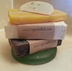 Vegan soaps ! Check out our online store!  www.SUGARANDOATS.com