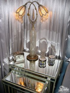 dita's bedside table